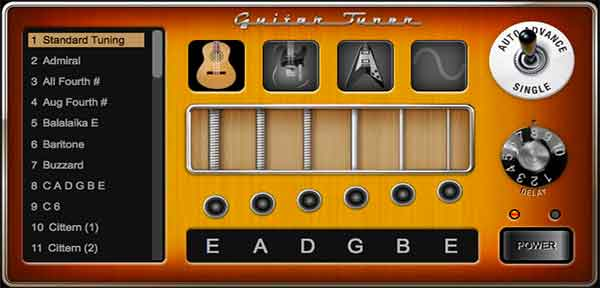 free guitar tuner software for windows 7
